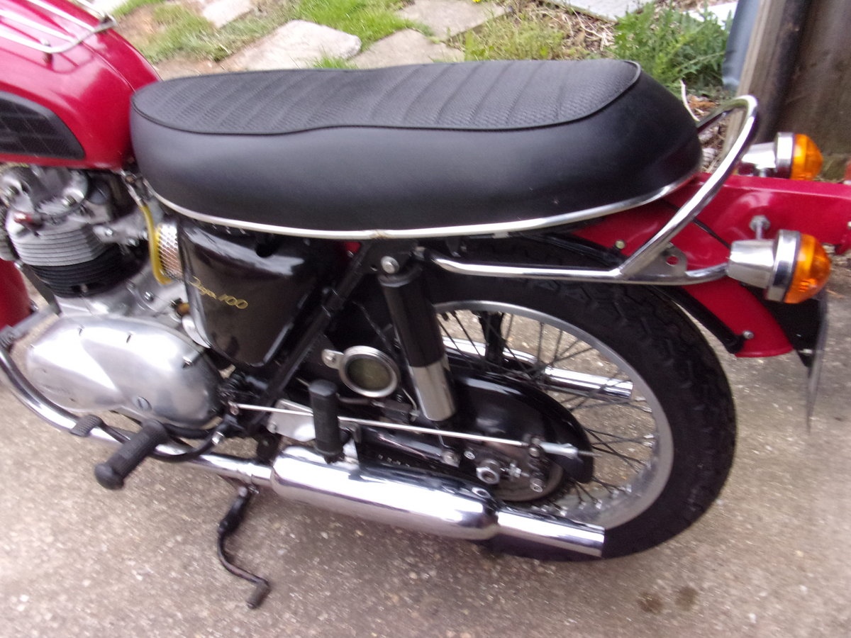 1971 TRIUMPH T100 SOLD (picture 3 of 6)