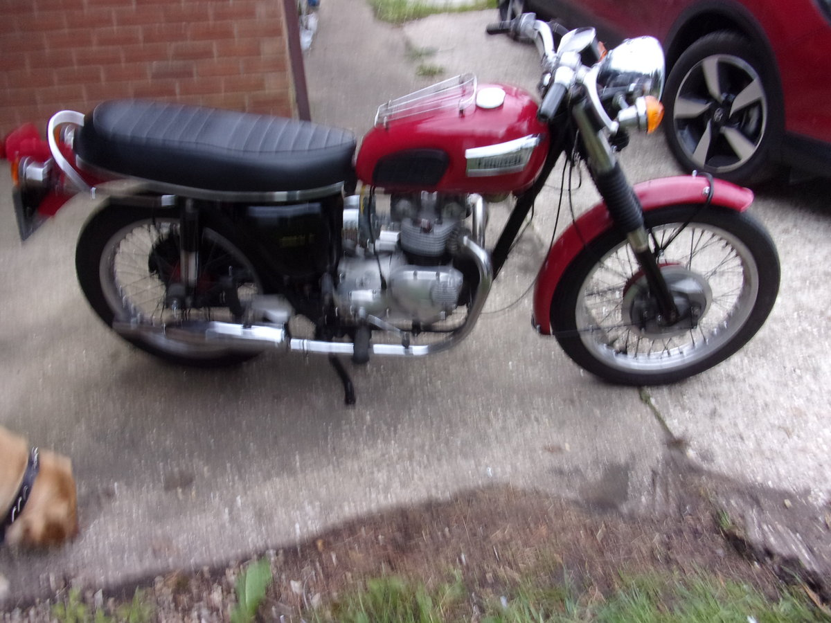 1971 TRIUMPH T100 SOLD (picture 4 of 6)
