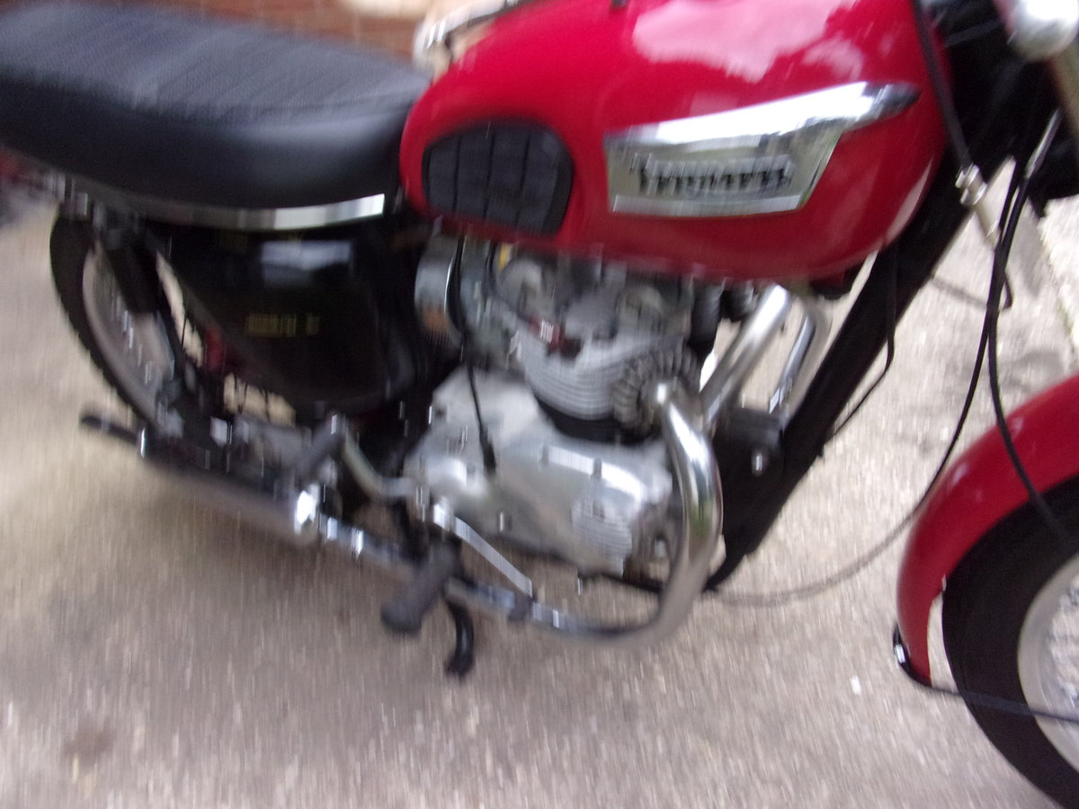 1971 TRIUMPH T100 SOLD (picture 6 of 6)