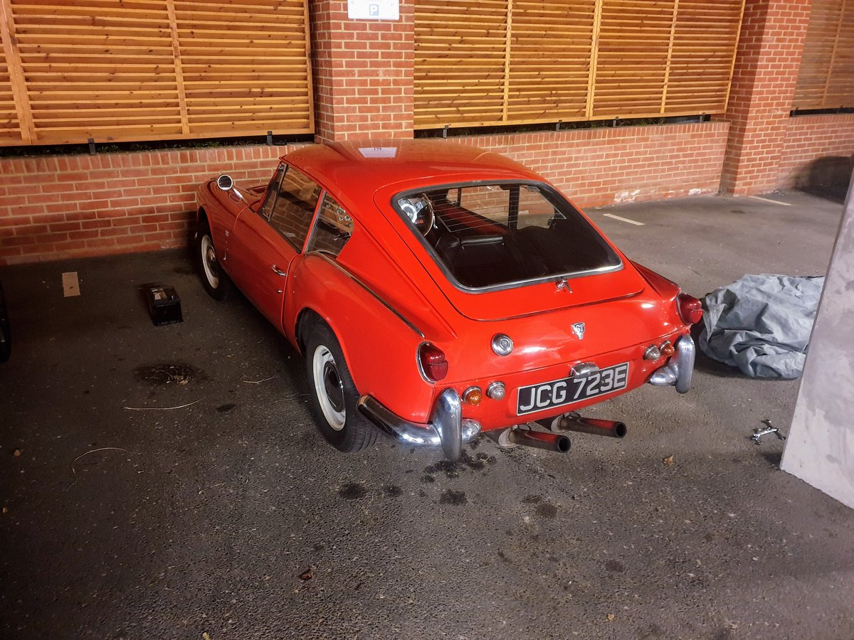 1967 Triumph GT6 MK1, Overdrive and £7,000 spent For Sale (picture 4 of 6)