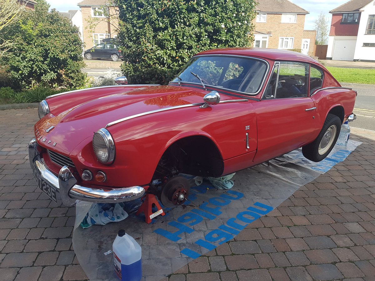 1967 Triumph GT6 MK1, Overdrive and £7,000 spent For Sale (picture 6 of 6)