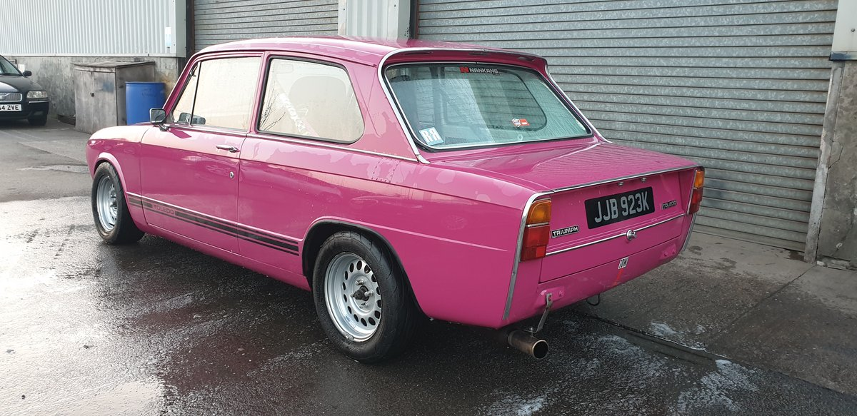 1971 Triumph Toledo Dolomite Sprint Powered Track Car For Sale (picture 2 of 6)