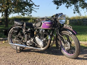 Triumph 5/5 Registered 30 /12/1935 500 cc OHV Twin-Port Sing For Sale
