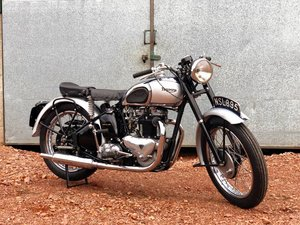 1946 Triumph Tiger 100 500cc Restored !!