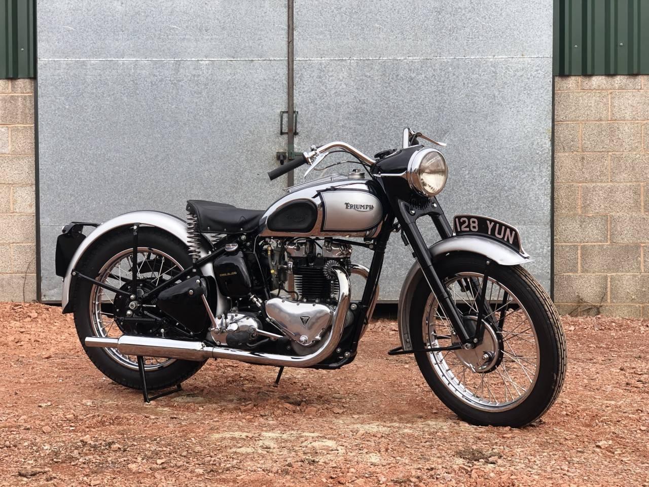 1948 Triumph Tiger 100 500cc Restored !! SOLD (picture 1 of 1)