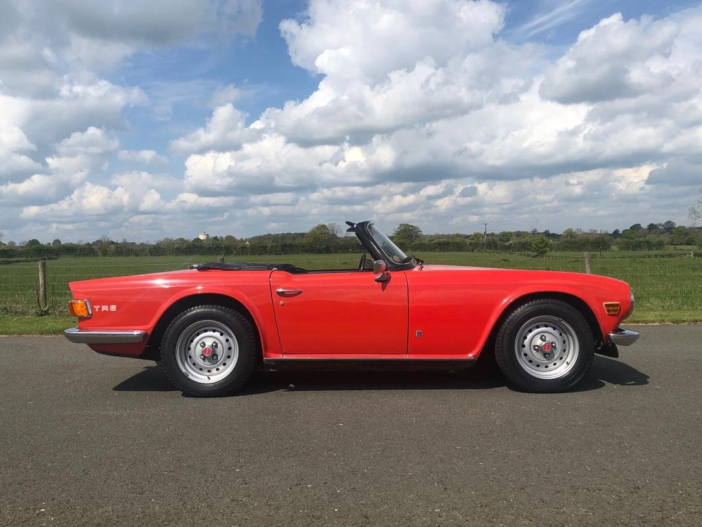 1974 Triumph TR6 150 BHP Manual / Overdrive SOLD (picture 3 of 6)