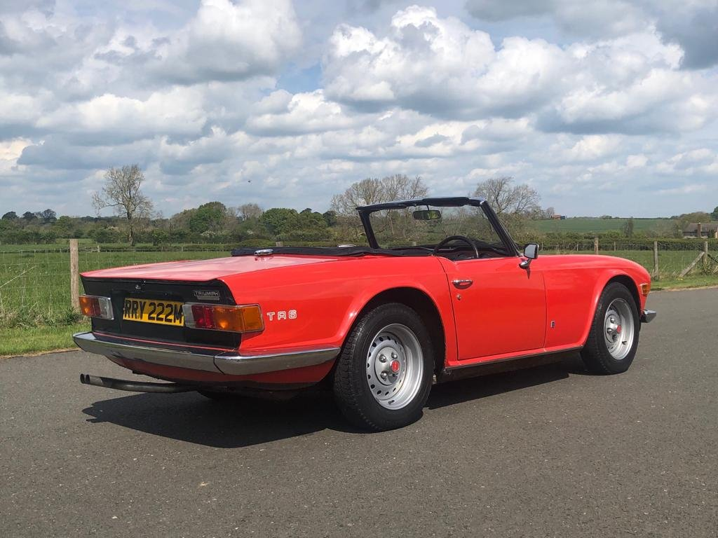 1974 Triumph TR6 150 BHP Manual / Overdrive SOLD (picture 4 of 6)