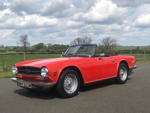 1974 Triumph TR6 150 BHP Manual / Overdrive SOLD