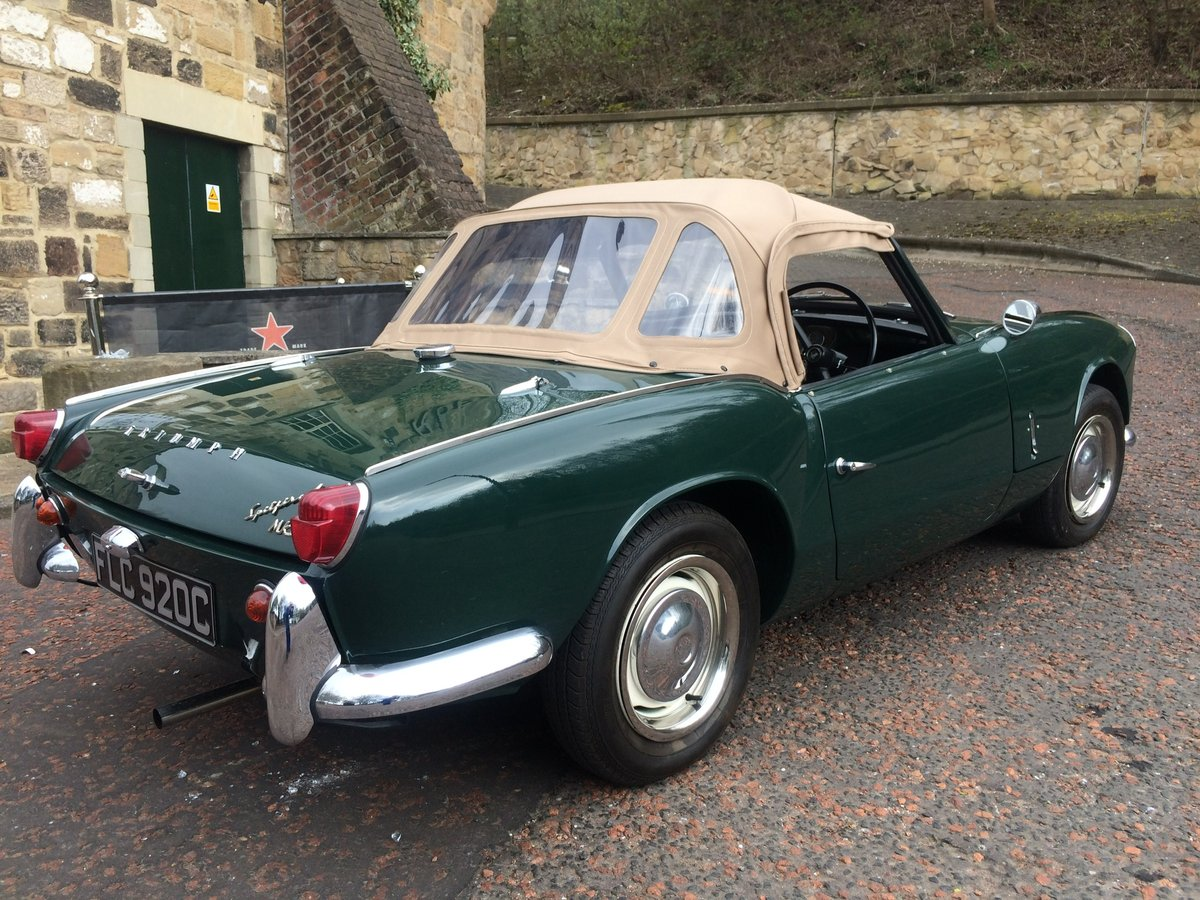 1964 Stunning Triumph Spitfire MK11 For Sale (picture 5 of 6)
