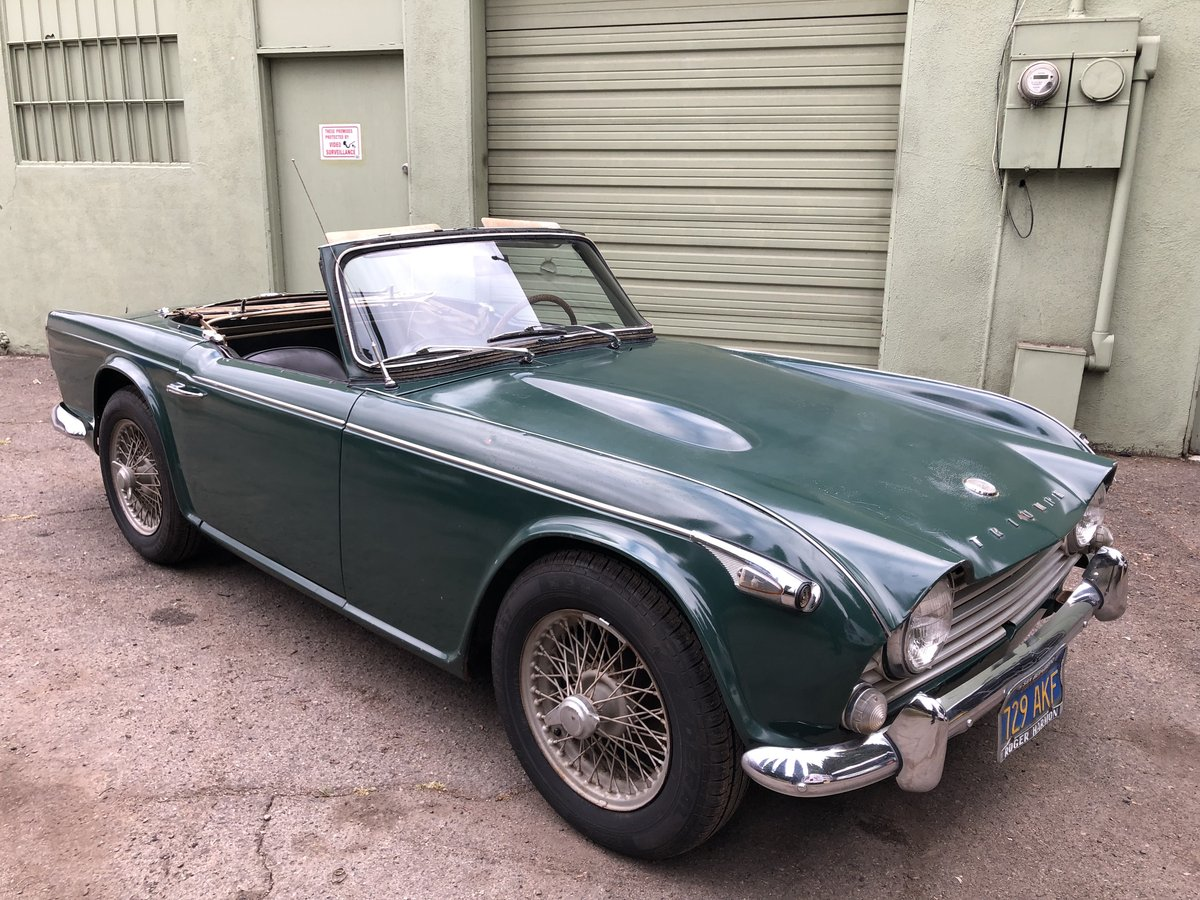 ***1966 Triumph TR4 IRS For Sale (picture 1 of 6)
