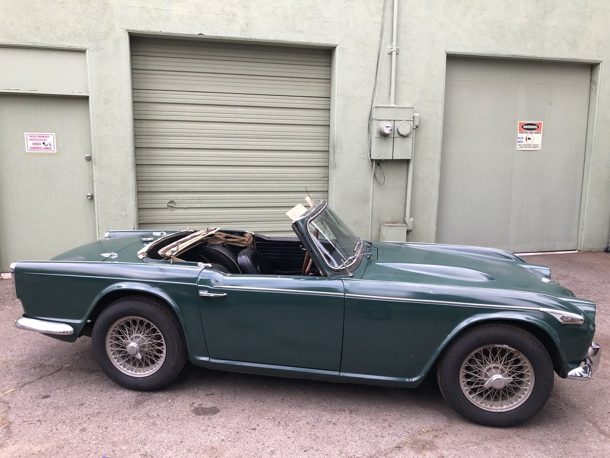 ***1966 Triumph TR4 IRS For Sale (picture 3 of 6)