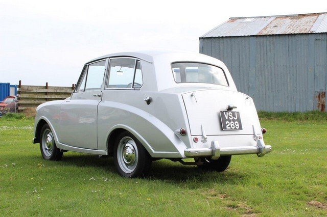 1953 Triumph Mayflower at Morris Leslie Auction 25th May SOLD by Auction (picture 2 of 6)