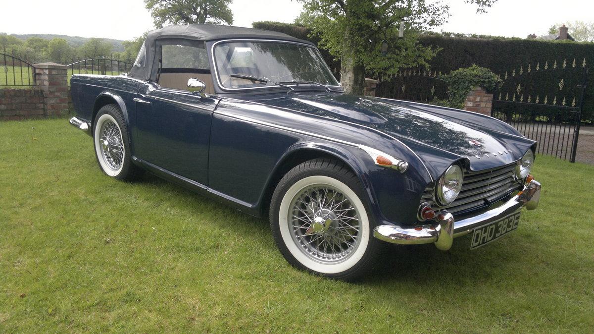 1967 Triumph TR4A For Sale (picture 1 of 4)
