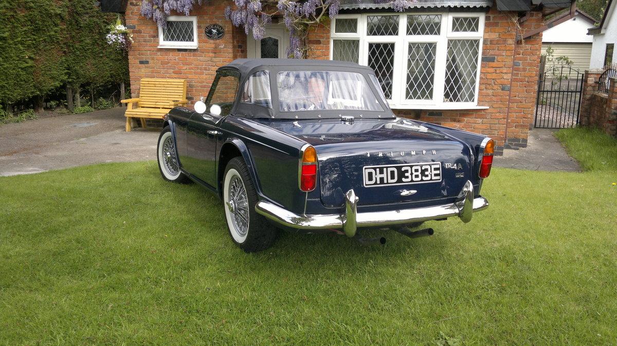 1967 Triumph TR4A For Sale (picture 3 of 4)