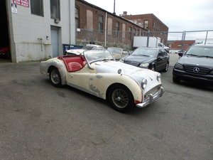 1962 Triumph TR3B Runs and Drives Needs Restoration