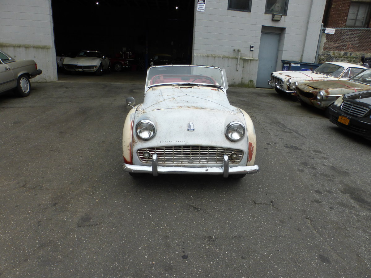 1962 Triumph TR3B Runs and Drives Needs Restoration For Sale