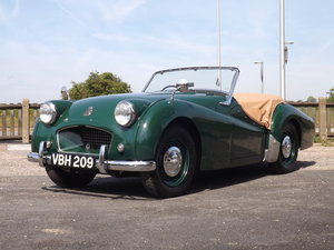 1955 Triumph TR2 - Older Restoration Very Smart For Sale by Auction