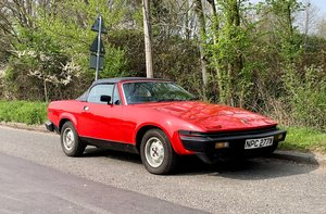 1981 Triumph TR7 Convertible - Just 1 owner and 33,000 miles For Sale by Auction