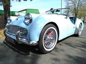 1958 Triumph TR3A - Deposit Taken! SOLD