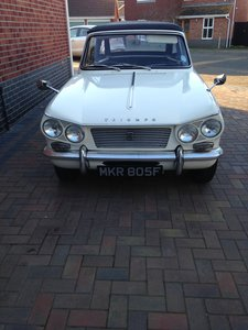 1968 Triumph Vitesse Mk1 2ltr with overdrive For Sale