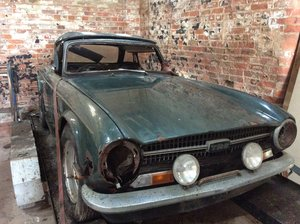 1970 Tr6 barn find uk car cp For Sale