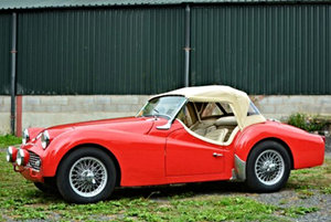 Triumph TR3A 1958 For Sale