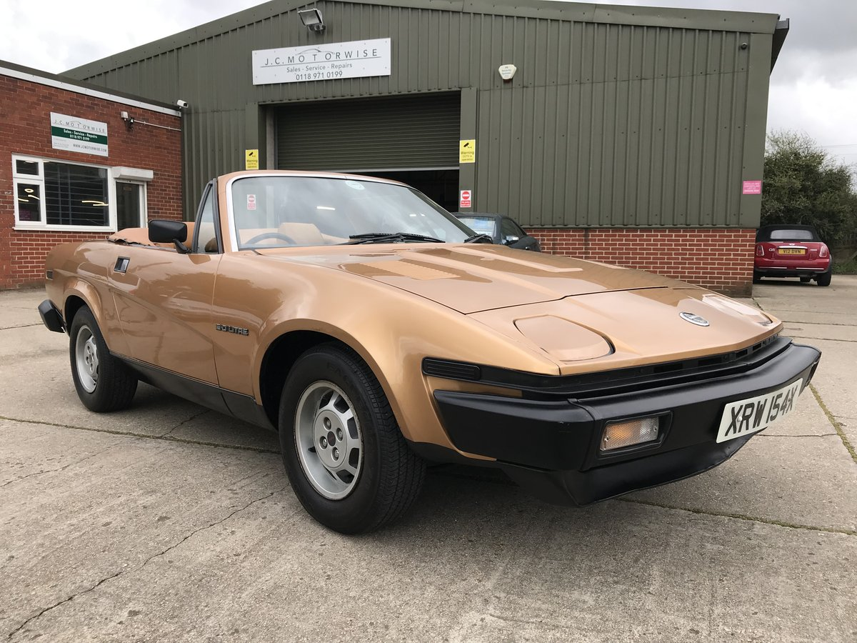 1982 Triumph TR7 -- ONLY 39,000 MILES For Sale (picture 1 of 6)