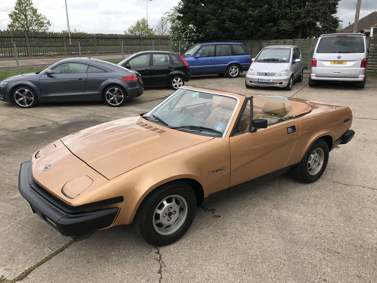 1982 Triumph TR7 -- ONLY 39,000 MILES SOLD (picture 2 of 6)