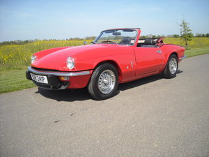 1976 TRIUMPH SPITFIRE 1500 OLDER NUT AND BOLT REBUILD For Sale