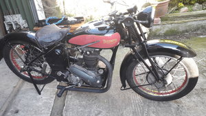 TRIUMPH 6/1 1935 650CC TWIN CYLINDER VAL PAGE For Sale