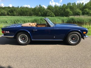1971 Very  Nice TR 6 LHD overdrive and leather seats For Sale