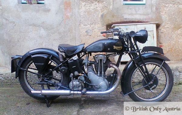 Triumph. 5/2. 500cc 1934 For Sale (picture 1 of 6)