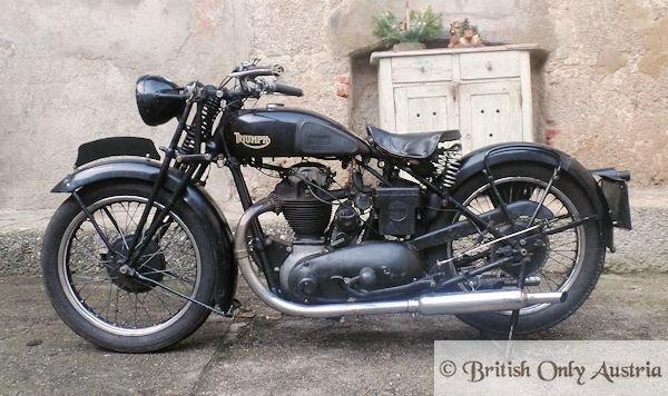 Triumph. 5/2. 500cc 1934 For Sale (picture 2 of 6)