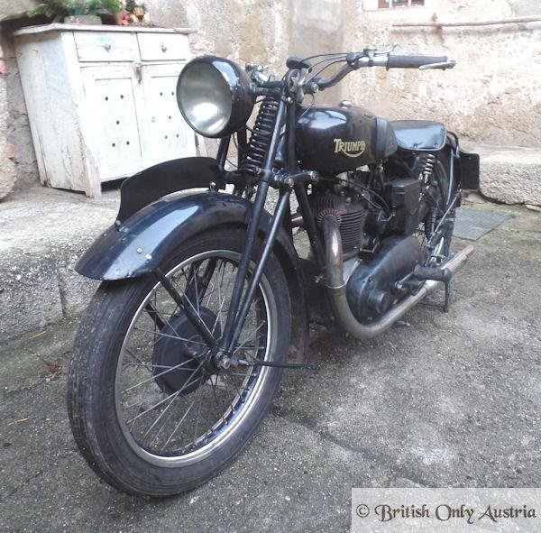 Triumph. 5/2. 500cc 1934 For Sale (picture 4 of 6)