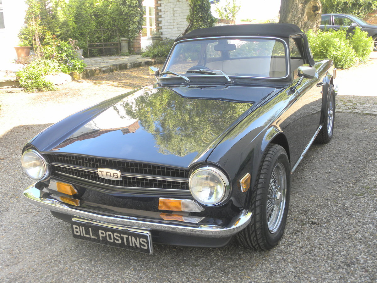 1970 TRIUMPH TR6.CP.OVERDRIVE.NUT & BOLT RESTORATION. For Sale (picture 1 of 6)