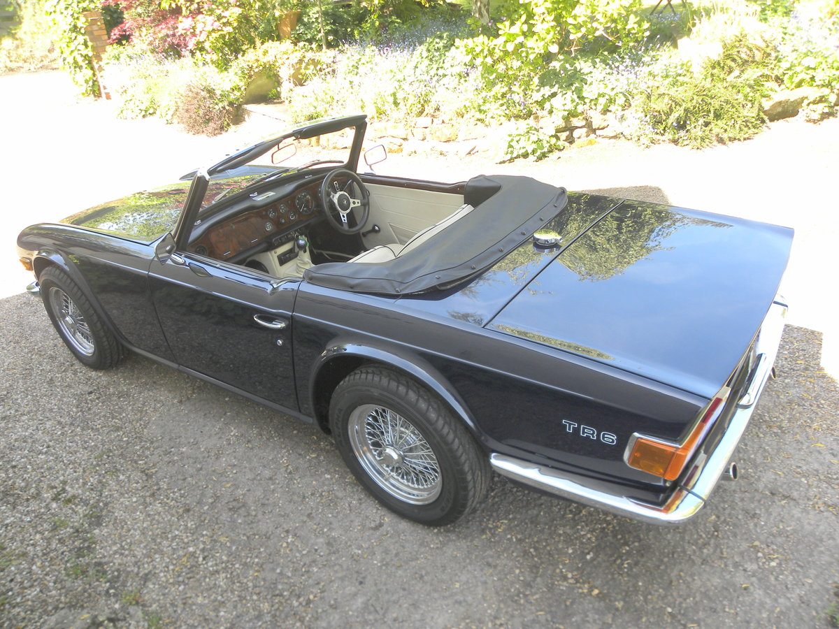 1970 TRIUMPH TR6.CP.OVERDRIVE.NUT & BOLT RESTORATION. For Sale (picture 2 of 6)