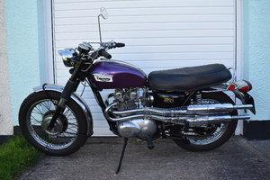 Lot 61 - A 1970 Triumph T100C - 01/06/2019
