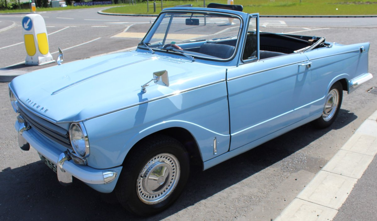 1969 Triumph Herald 13/60 Convertible 65,000 recorded miles  SOLD (picture 2 of 6)