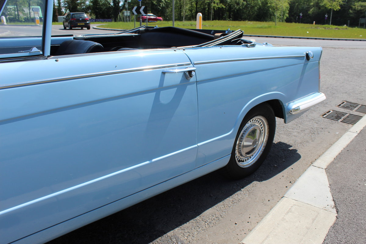 1969 Triumph Herald 13/60 Convertible 65,000 recorded miles  SOLD (picture 3 of 6)