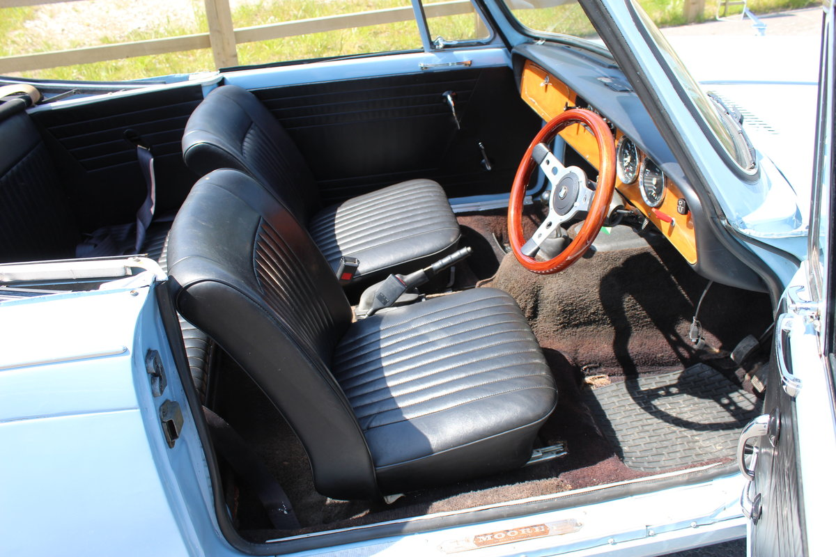 1969 Triumph Herald 13/60 Convertible 65,000 recorded miles  SOLD (picture 5 of 6)