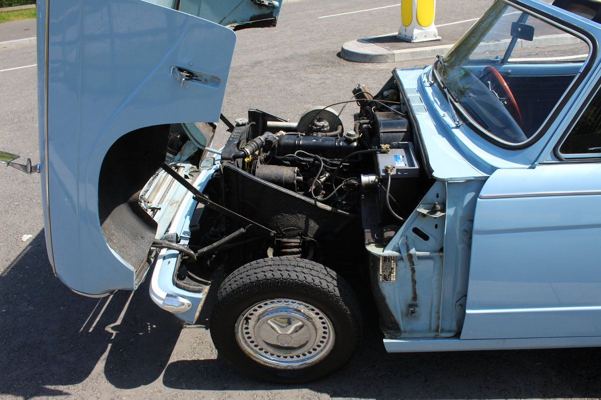 1969 Triumph Herald 13/60 Convertible 65,000 recorded miles  SOLD (picture 6 of 6)