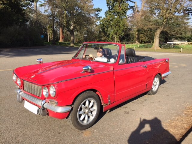 1966 Triumph Vitesse Convertable SOLD (picture 1 of 6)