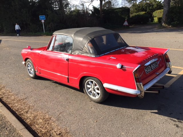 1966 Triumph Vitesse Convertable SOLD (picture 2 of 6)