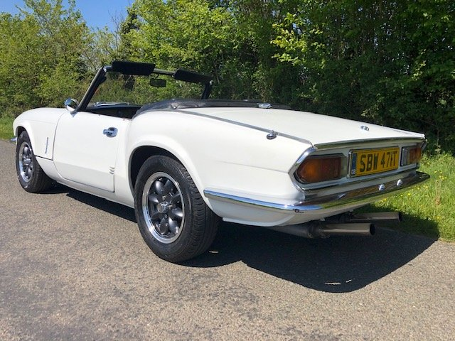 1979 TRIUMPH SPITFIRE 1500 THOUSANDS SPENT ON HER For Sale (picture 3 of 6)