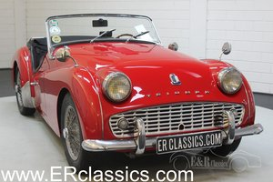 Triumph TR3A 1960 overdrive, restored For Sale