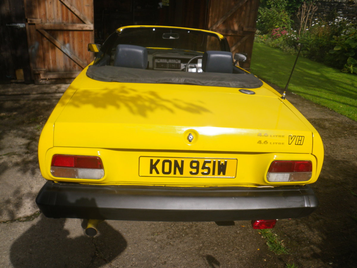 1981 TR7 V8 4.6 CONVERTABLE For Sale (picture 1 of 6)