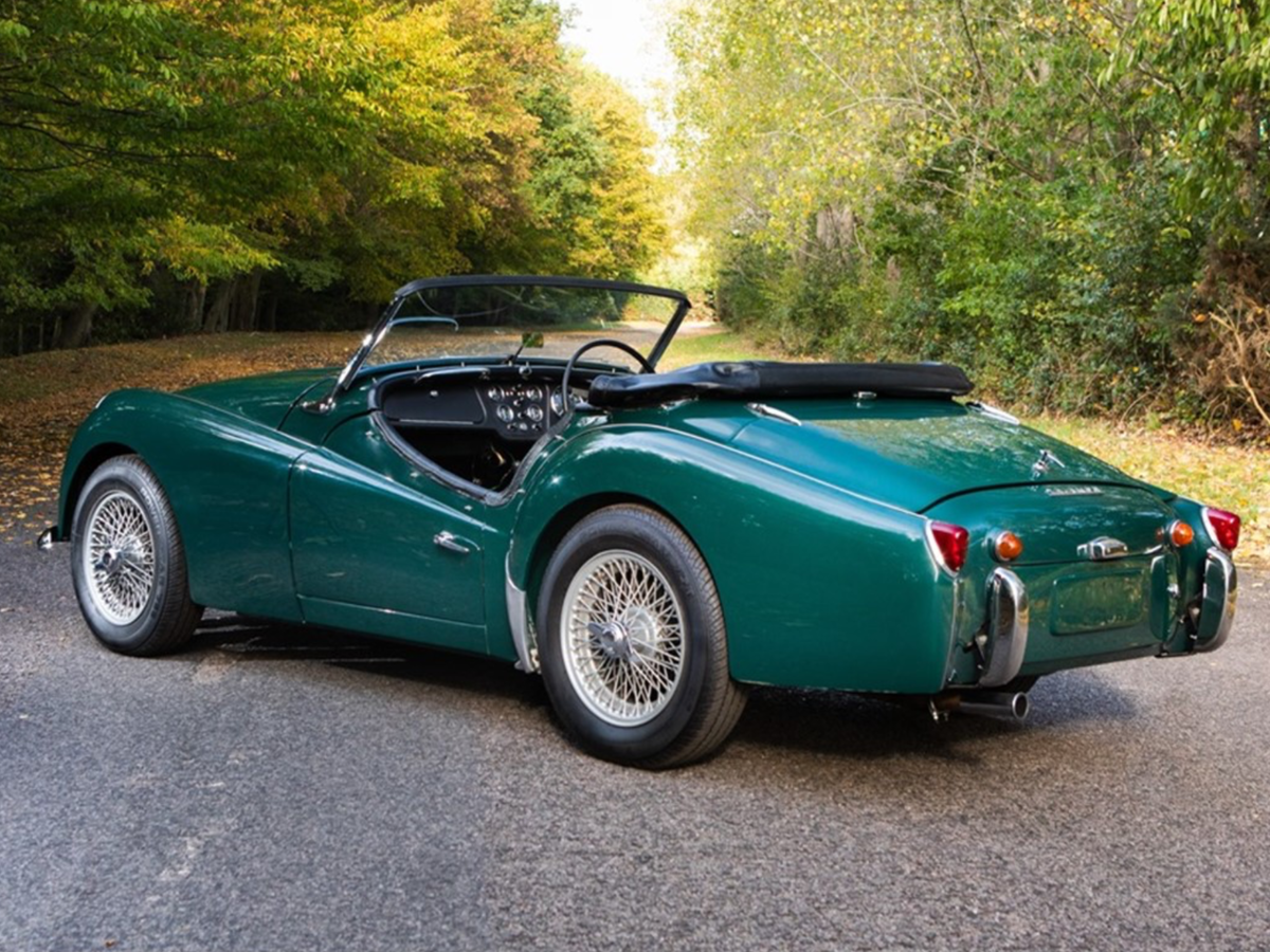 1957 Triumph TR3A Overdrive RHD SOLD (picture 1 of 6)