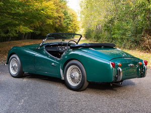 1957 Triumph TR3A Overdrive RHD For Sale