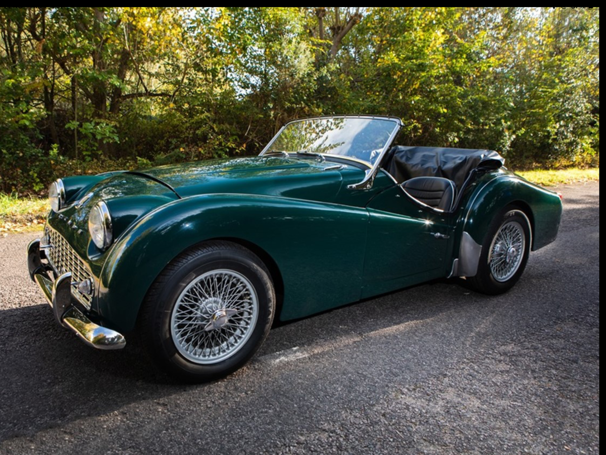 1957 Triumph TR3A Overdrive RHD SOLD (picture 4 of 6)