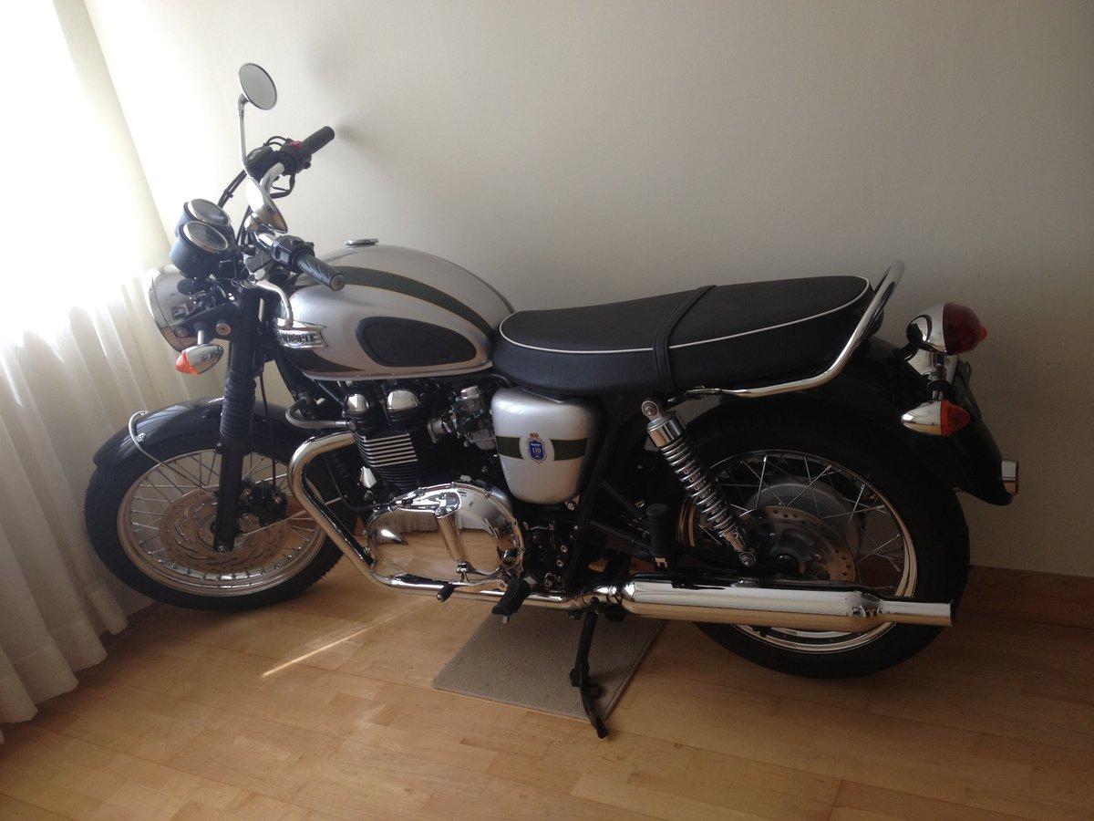 2012 Triumph Bonneville T100 For Sale (picture 1 of 5)